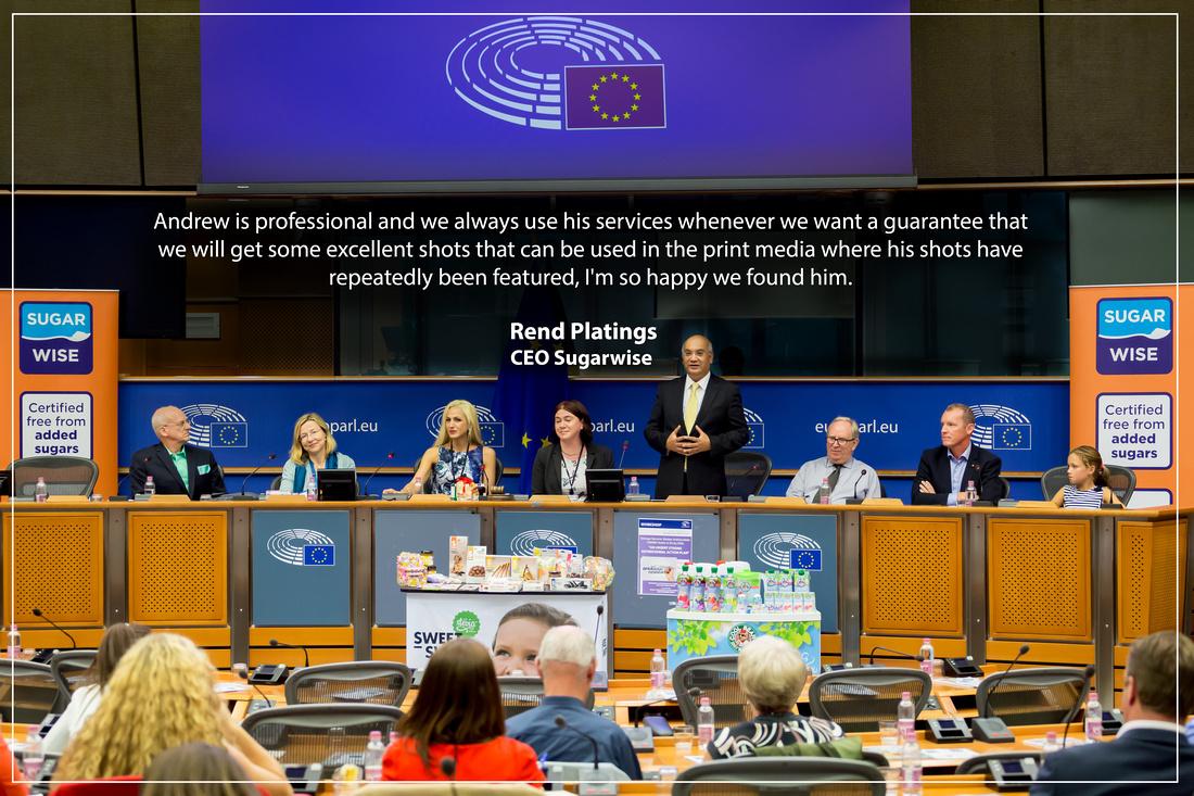 Sugarwise, European Parliament, Brussels, Rend Platings